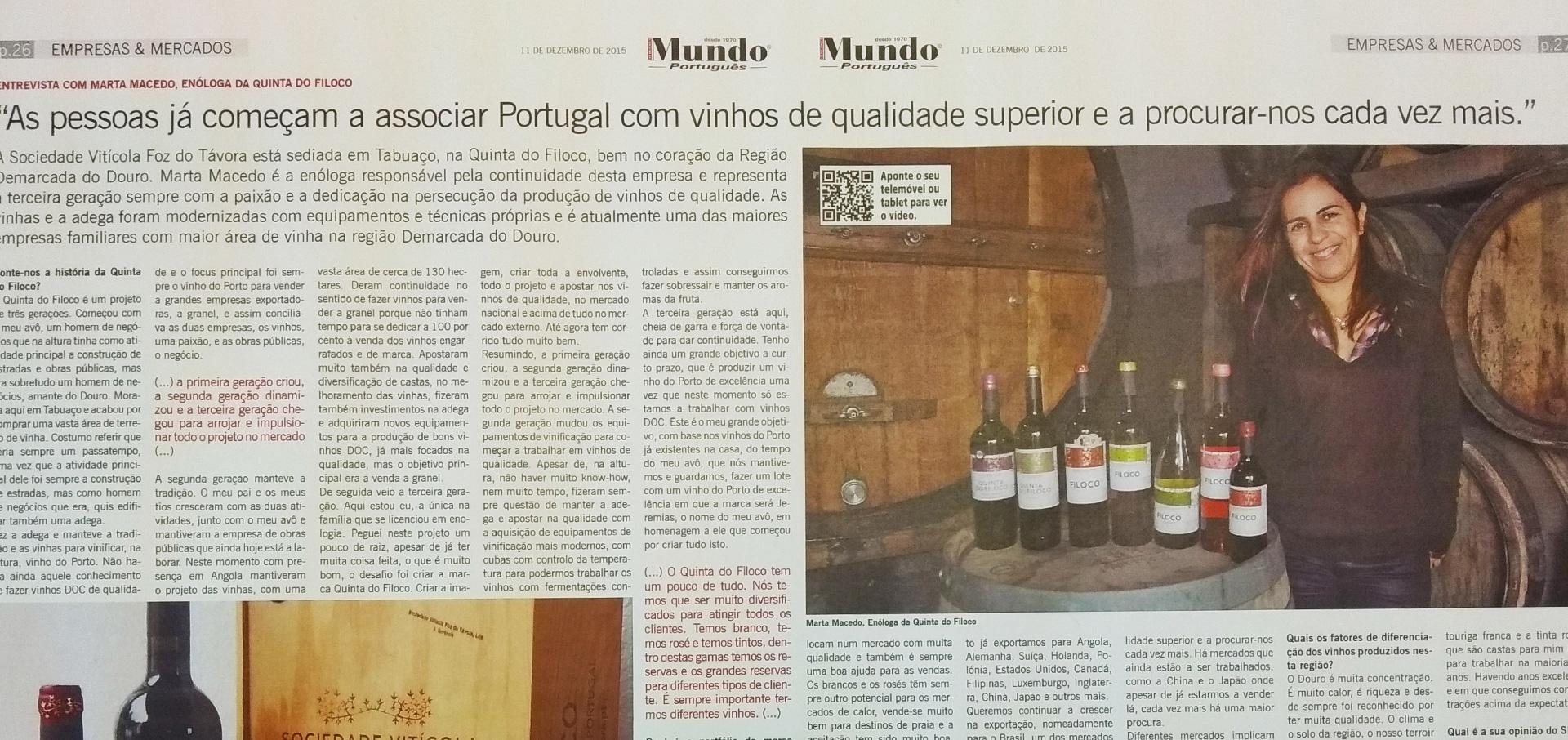 Jornal Mundo Português – Dezembro 2015